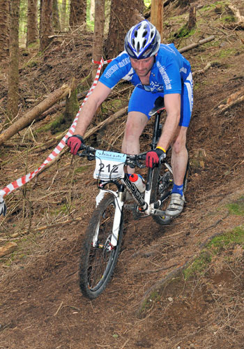 Steve at Fort William SXC Series Race
