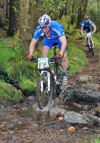 Steve and Paul at Fort William SXC Series Race